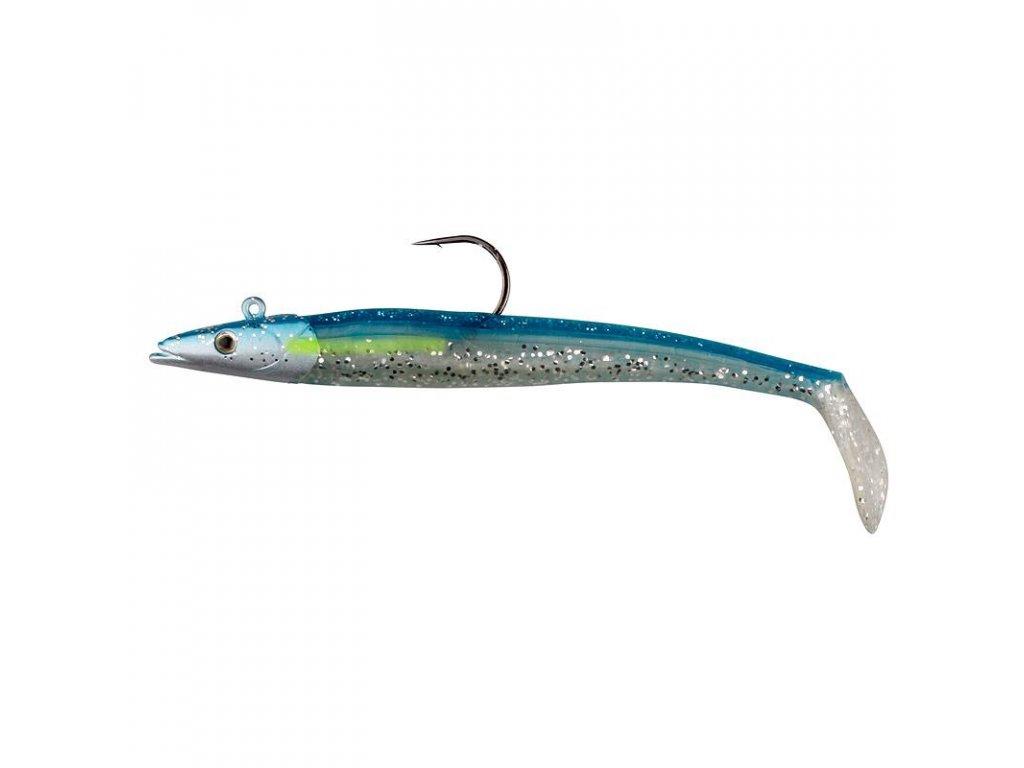 17696 sg sandeel 20cm 150g blue silver