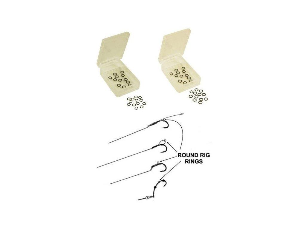 Extra Carp Rig Rings kroužky na háčky (Průměr 3,1mm)