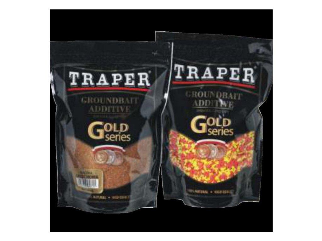 Traper pečivo - anglická vločka (Barva FLUO žlutá)