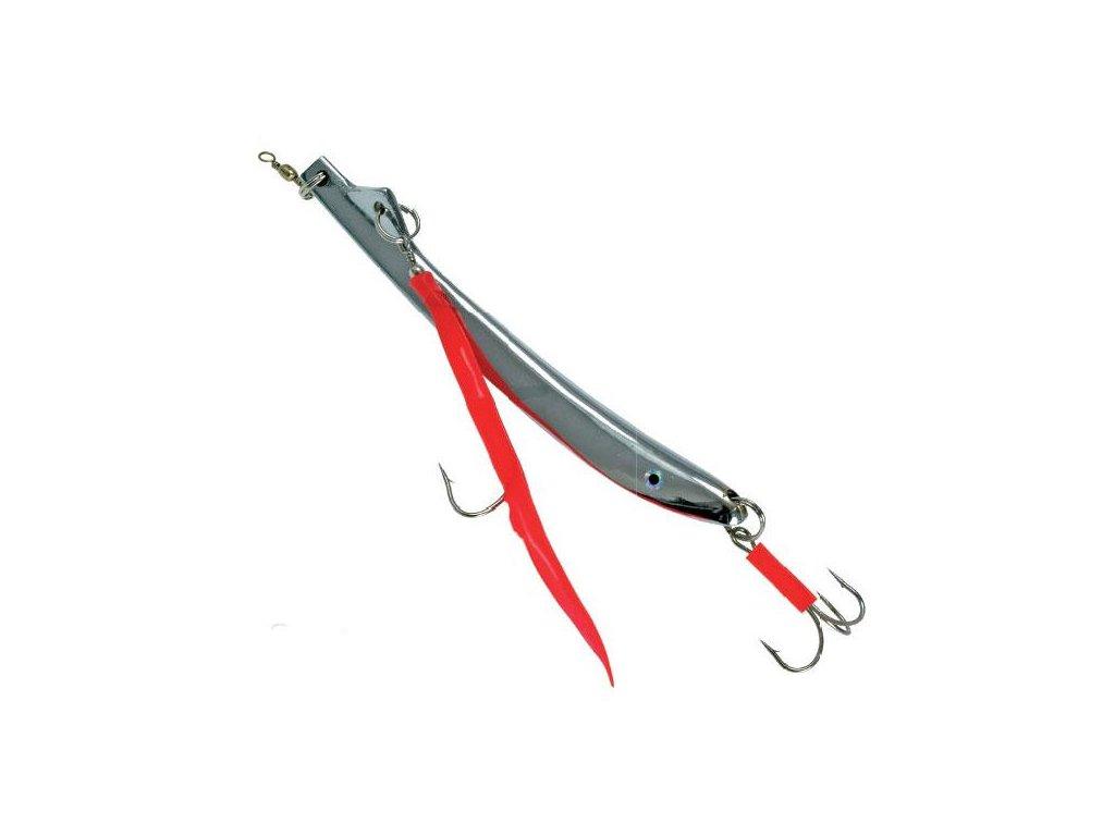 Pilker Ice Fish MAK stříbrný (Hmotnost zátěže 80g)