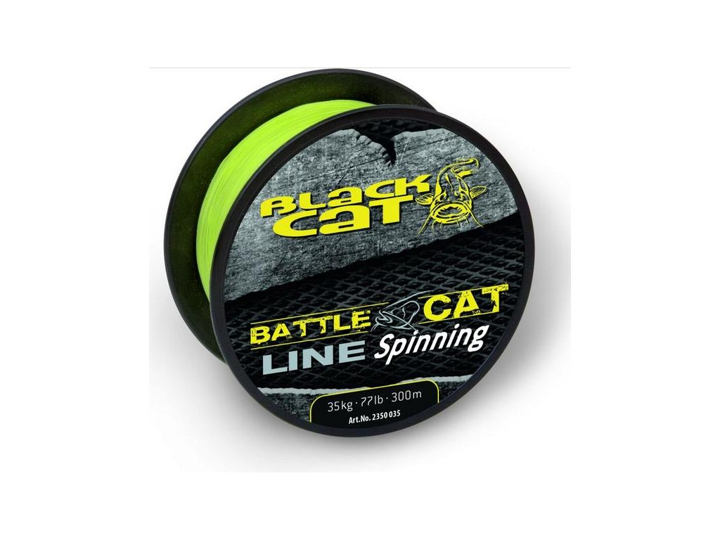 Black Cat Battle Cat Spinning 150m (Průměr 0,45mm 45kg)