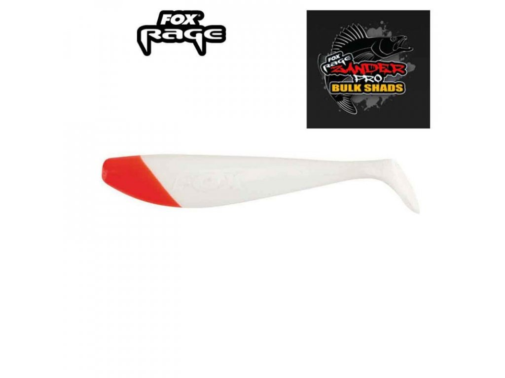 2921 fox rage zander shad 7 5cm red head