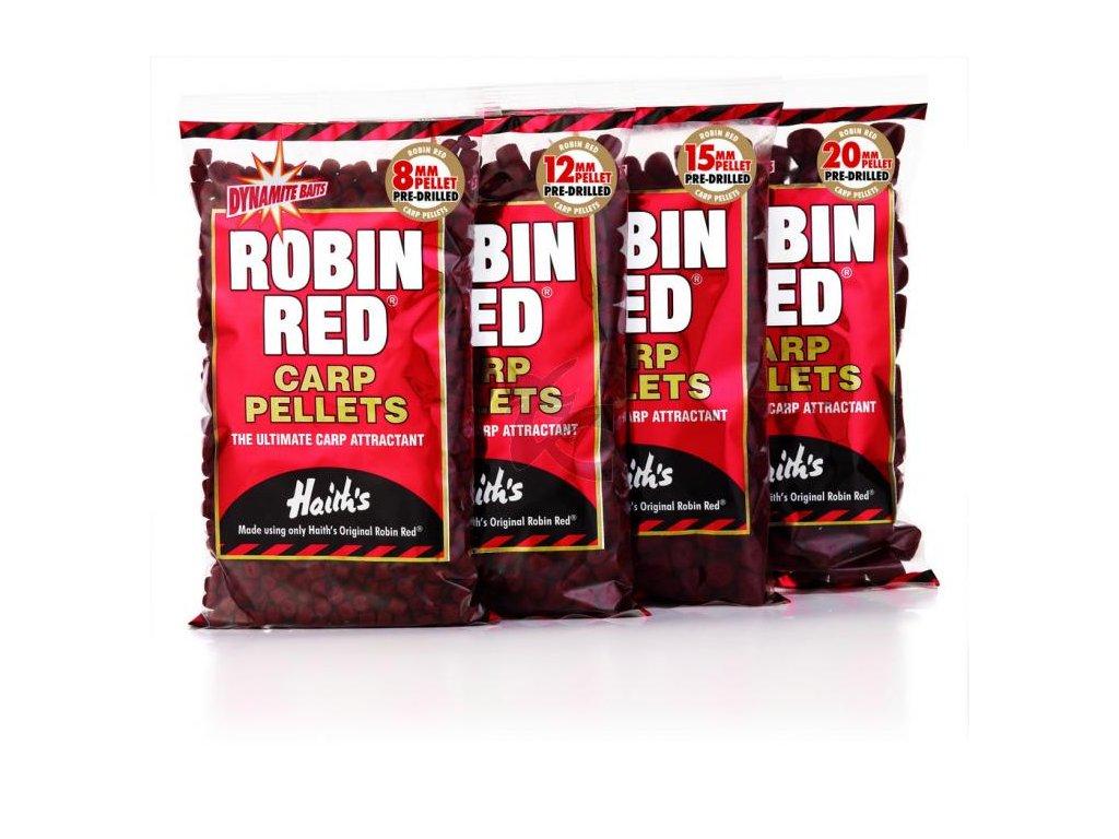 Dynamite Baits Robin Red pellety s dírou (Boilie/pelety 8mm)
