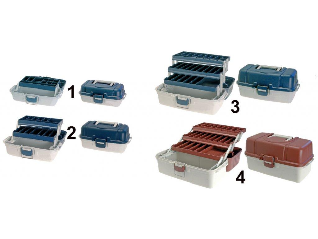 Kufřík A-M 4 velikosti (Velikost 1)
