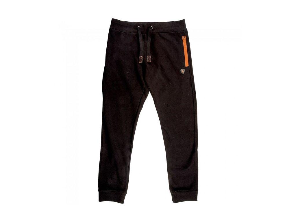 Fox tepláky Black Orange Joggers (Velikost M)