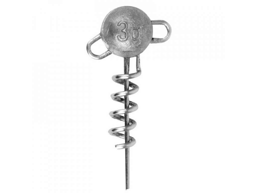 fox rage corkscrew round jig head z1