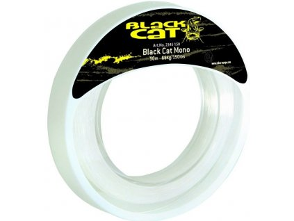 10634 black cat mono leader 50m 1mm 54kg