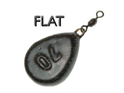 Olovo flat s obratlíkem (Hmotnost zátěže 150g)