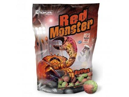 Quantum Radical Red Monster Boilie 1kg (Průměr 16mm)