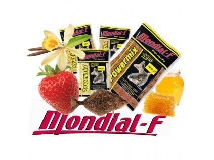 Vnadící směs Mondial 1kg (Příchutě Jahoda)