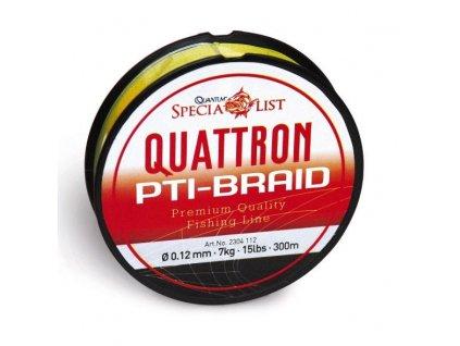 Quattron PTI 0,35mm 34kg 300m (Barva Červená)