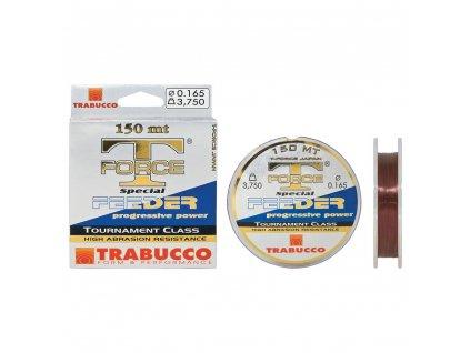 Vlasec na feeder Trabucco T-Force (Průměr vlasce 0,165mm 3,75kg)