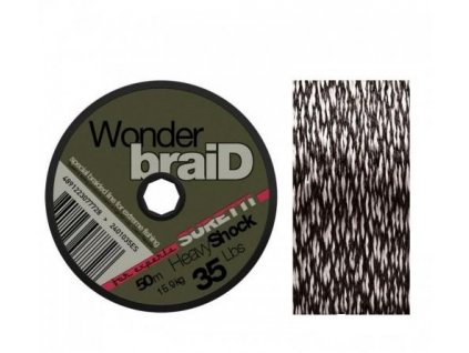 Šokovka Wonderbraid Shock 50m (Nosnost 25lb)
