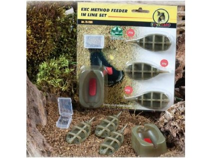 24833 extra carp method feeder set 20 30 40g formicka