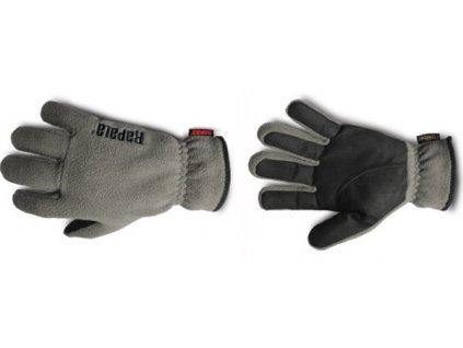 Rapala Fleece Amara Gloves/Grey (Velikost M)