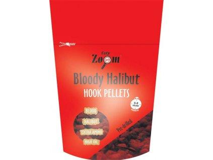 Chytací pelety RED Halibut - JAHODA (Boilie/pelety 8mm)