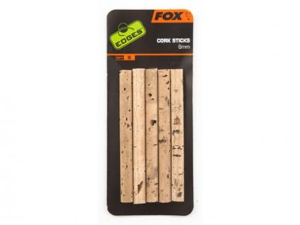 28076 fox edges cork sticks 6mm