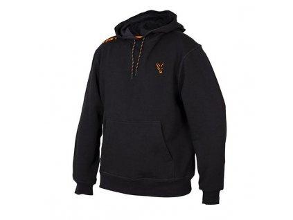 Fox Black & Orange Hoody Mikina s kapucí (Velikost L)