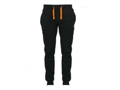 Fox Tepláky Black Orange Light (Textil-velikosti S)
