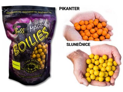 Václavík Boilies Boss2 MAGIC 1kg (Příchutě 16mm Pikanter)