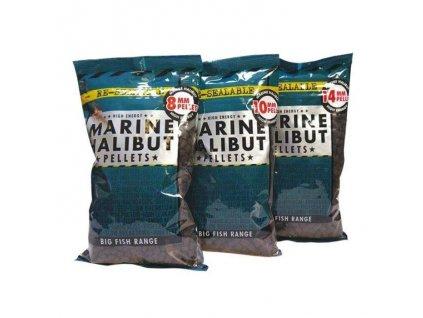 Dynamite Baits Marine Halibut Pelety (Průměr 4mm)