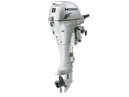 Benzínový lodní motor Honda BF 8 (Model LHU - dlouhá noha)