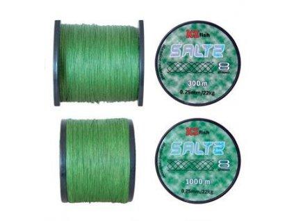 Pletená šňůra SALTZ (Průměr 0,25mm 22kg)