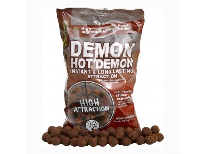 Boilies STARBAITS Hot Demon 2,5kg (Průměr 20mm)