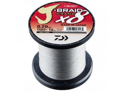 Daiwa J-Braid Grand X8 (Průměr 0,16mm 10kg)