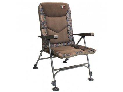 32126 zfish kreslo deluxe camo chair