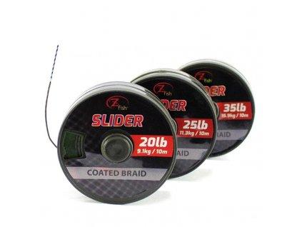 Zfish Slider - potahovaná šňůrka 10m (Nosnost 20lb)