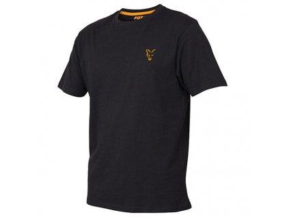 Tričko FOX Black Orange (Velikost XL)