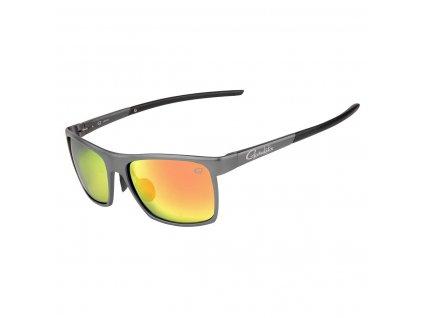 hliníkové polarizační brýle Gamakatsu s červenými skly
