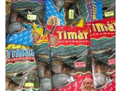 Krmení Timár MIX 1kg (Příchutě AMUR - zelená)