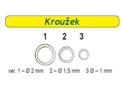 Kroužek na boilie CS (Velikost 2)