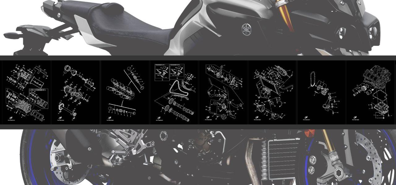 Katalog náhradních dílů Yamaha