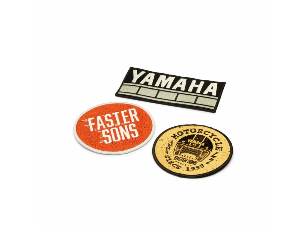 N20 PA010 B7 00 PATCHES SET OF 3 FASTER SONS Studio 001 Tablet