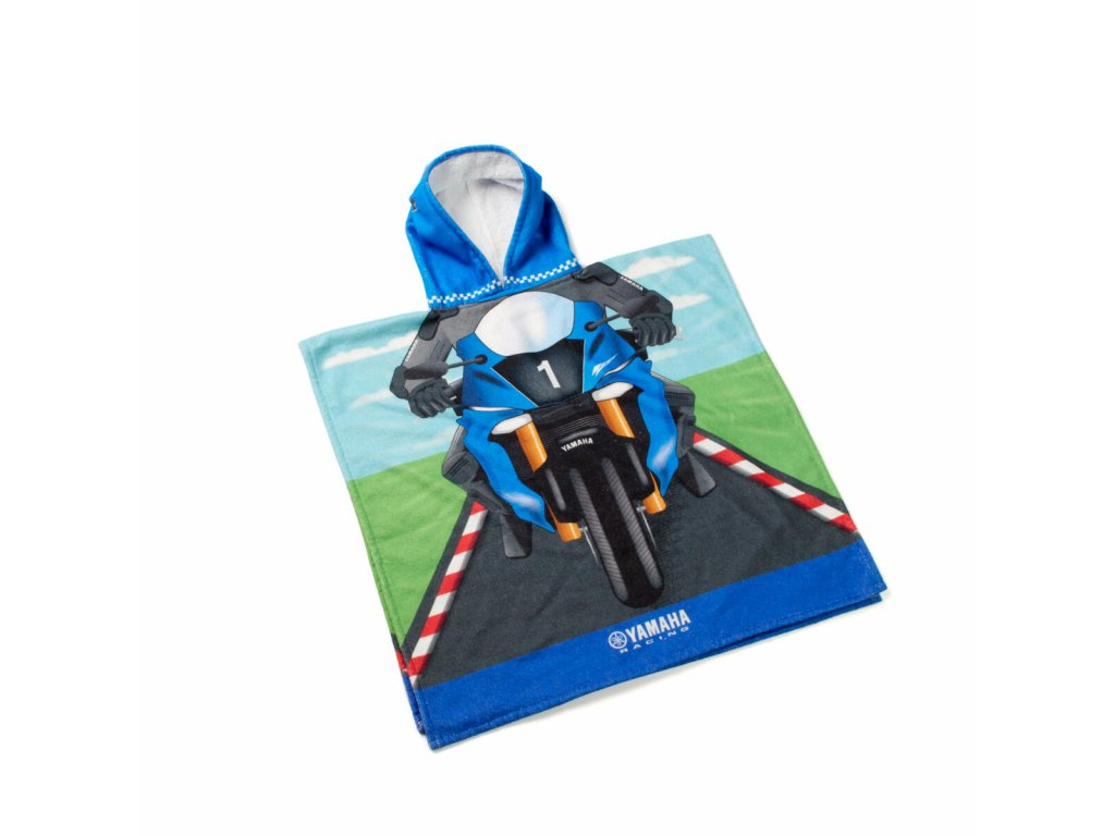 N20 NR413 E2 00 KIDS PONCHO TOWEL RACING Studio 001 Tablet