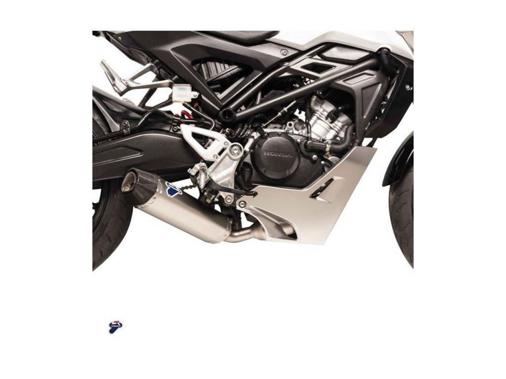 complete exhaust system termignoni titan carbon honda cb 125 r 18 11 large