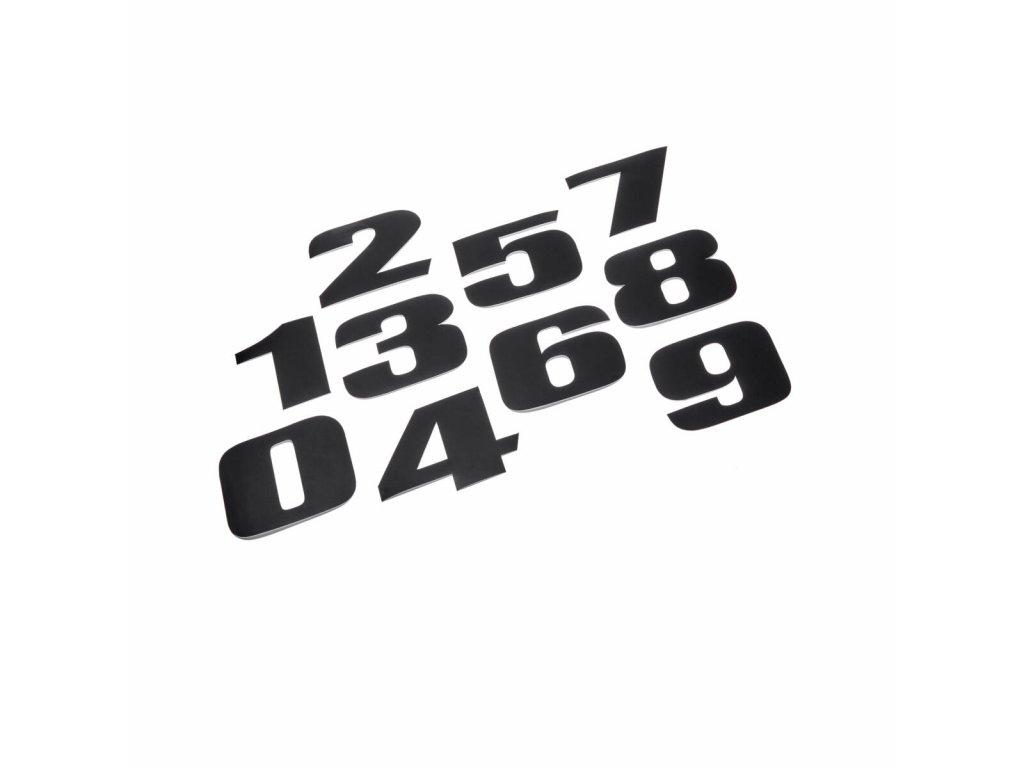 1RC F17C0 A0 00 Number sticker kit Studio 001 Tablet