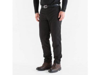 Pánské kevlarové jeansy na motocykl Knox Richmond, černé
