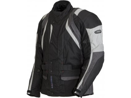 Motocyklová bunda Lookwell RIVAGE černo-šedá