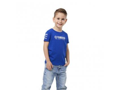 detske tričko yamaha paddock blue BRUGES