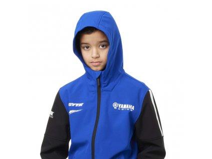 Dětská softshellová bunda Yamaha paddock blue WUPPER