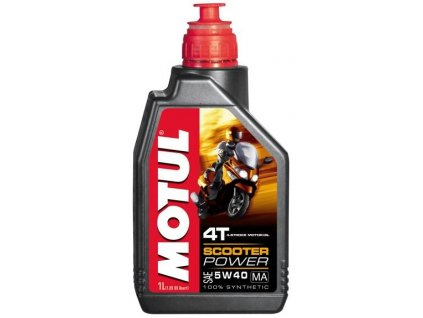 MOTUL SCOOTER POWER MA 5W-40 - 1 l
