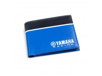 N21 JC000 B4 00 YAMAHA RACING LEATHER WALLET Studio 001 Tablet