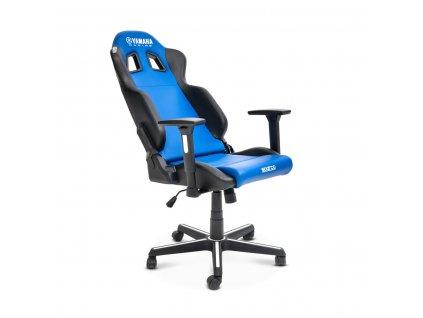 N21 JB005 E1 00 Yamaha Racing Premium Game Chair by Sparco Studio 004 Tablet