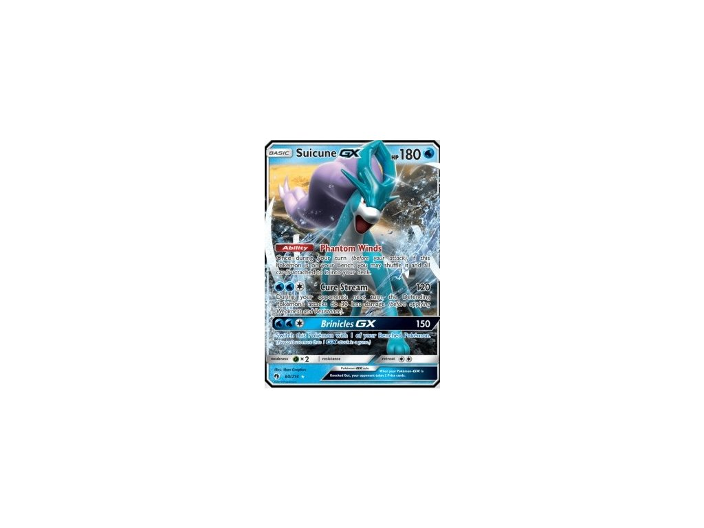 Suicune GX 60/214