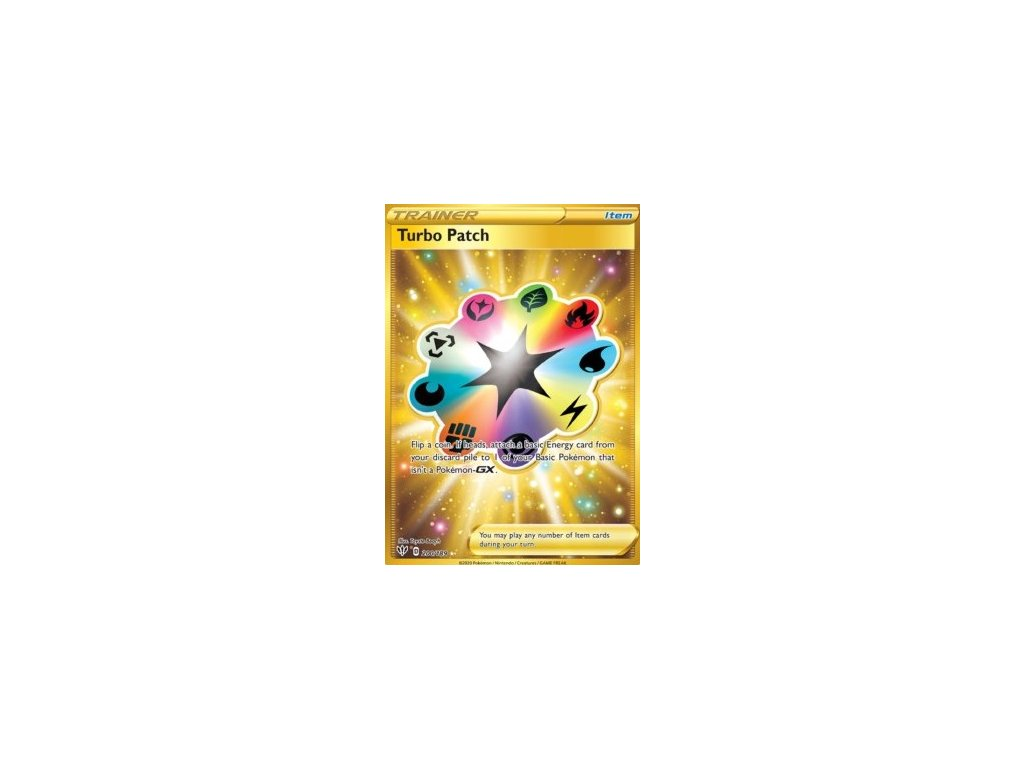 Turbo Patch (Golden) 200/189