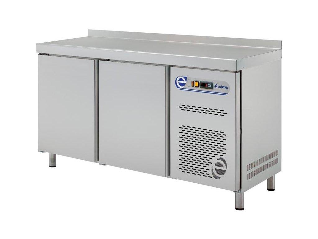Chladící a mrazící stůl snack 600mm dvě sekce Edesa